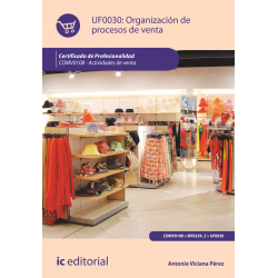 Organización de procesos de venta - UF0030