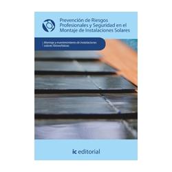 Prevención de riesgos profesionales y seguridad en el montaje de inst. solares - UF0151