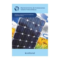 Mantenimiento de instalaciones solares fotovoltaicas - MF0837_2