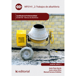 Trabajos de albañilería - MF0141_2