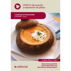 Decoración y exposición de platos - UF0072