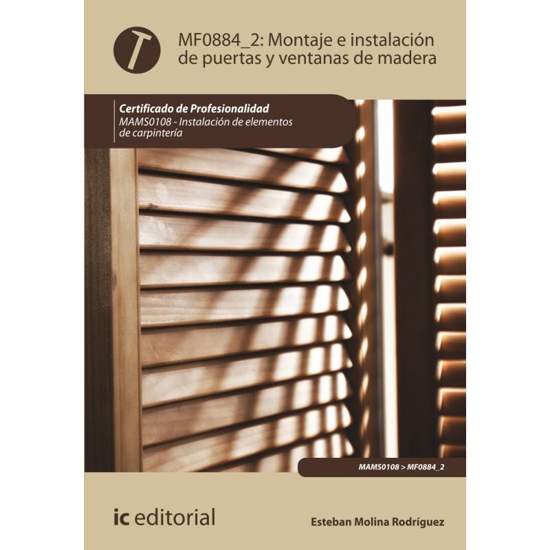 Libro de montaje e instalaci n de puertas y ventanas de mf0884 2 - Montaje de puertas ...