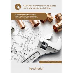 Interpretación de planos en la fabricación de tuberías  UF0494