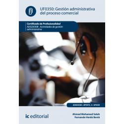 Gestión administrativa del proceso comercial  UF0350