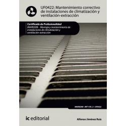 Mantenimiento correctivo de instalaciones de climatización y ventilaciónextracción UF0422