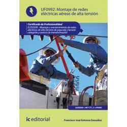 Montaje de redes eléctricas aéreas de alta tensión UF0992
