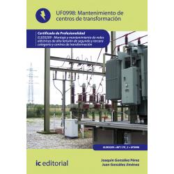 Mantenimiento de centros de transformación UF0998
