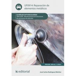 Reparación de elementos metálicos UF0914