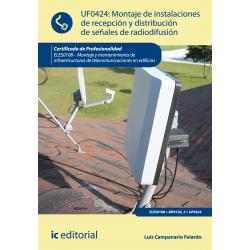 Montaje de instalaciones de recepción y distribución de señales de  radiodifusión UF0424