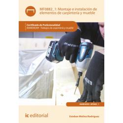 Montaje e instalación de elementos de carpintería  y mueble  MF0882_1