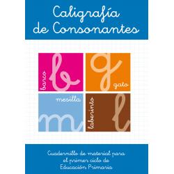 Caligrafía de consonantes. Educación infantil