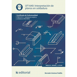 Interpretación de planos en soldadura UF1640