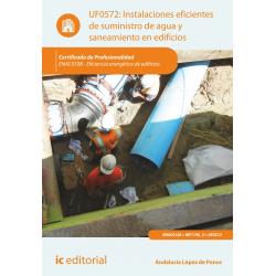 Instalaciones eficientes de suministro de agua y saneamiento en edificios UF0572