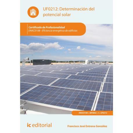 Determinación del potencial solar UF0212