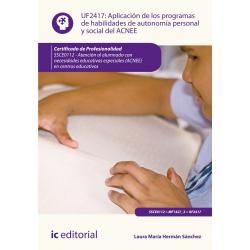 Aplicación de los programas de habilidades de autonomía personal y social del ACNEE UF2417