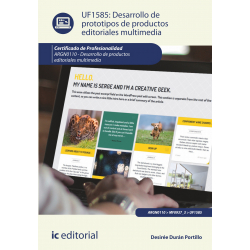 Desarrollo de prototipos de productos editoriales multimedia UF1585