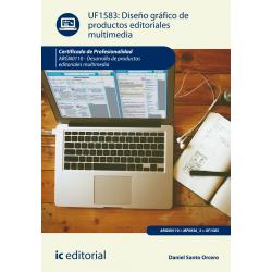 Diseño gráfico de productos editoriales multimedia UF1583
