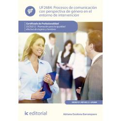 Procesos de comunicación con perspectiva de género en el entorno de intervención UF2684