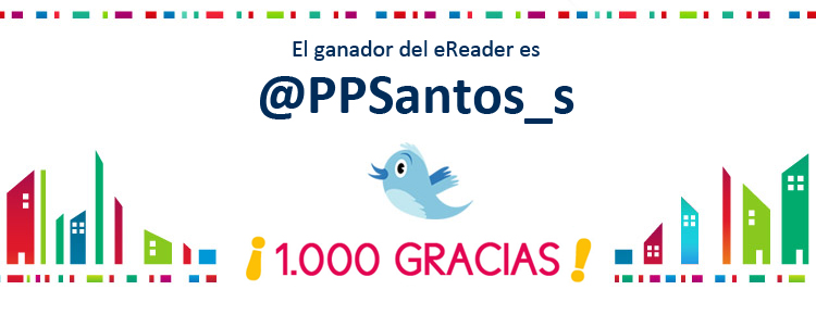 Ganador del sorteo del eReader