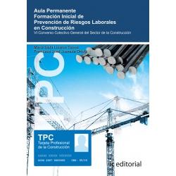 TPC - Aula permanente. Formación inicial de PRL en Construcción