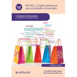 Ingles profesional para actividades comerciales + cd - MF1002_2