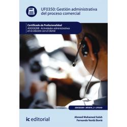 Gestión administrativa del proceso comercial - UF0350