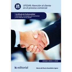 Atención al cliente en el proceso comercial - UF0349