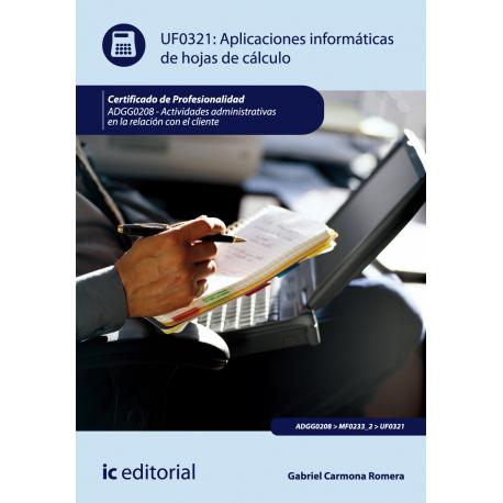 Aplicaciones informaticas de hojas de calculo - UF0321