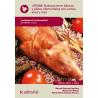 Elaboraciones basicas y platos elementales con carnes, aves y caza - UF0068