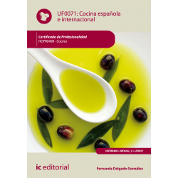 Cocina española e internacional - UF0071