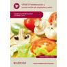 Preelaboracion y conservacion de vegetales y setas - UF0063