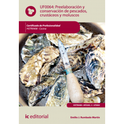 Preelaboración y conservación de pescados, crustáceos y moluscos - UF0064