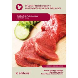 Preelaboración y conservación de carnes, aves y caza - UF0065