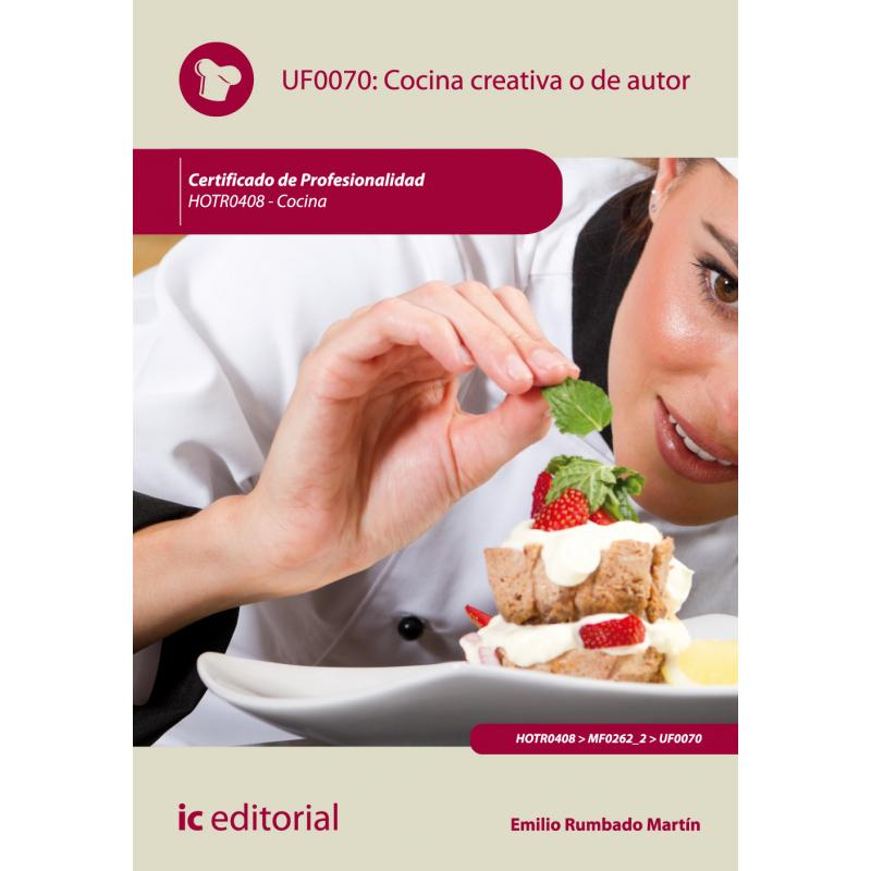Libro de Cocina creativa o de autor UF0070