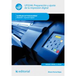 Preparación y ajuste de la impresión digital UF0246