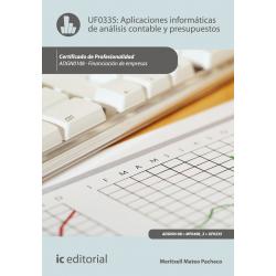 Aplicaciones informáticas de análisis contable y contabilidad presupuestaria - UF0335