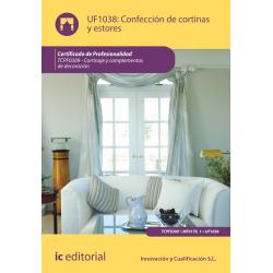 Confeccion de cortinas y estores - UF1038