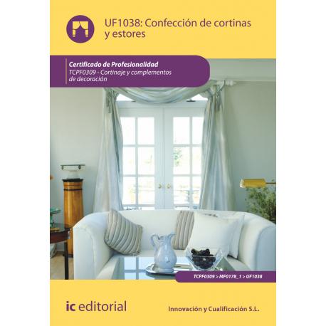 Libro de confecci n de cortinas y estores uf1038 - Confeccion de estores ...