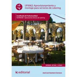Aprovisionamiento y montaje para servicios de catering - UF0062