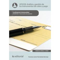 Analisis y gestion de los instrumentos de cobro y pago - UF0339