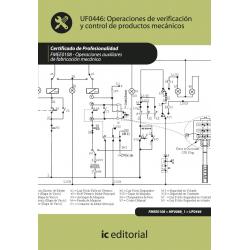 Operaciones de verificación y control de productos mecánicos UF0446