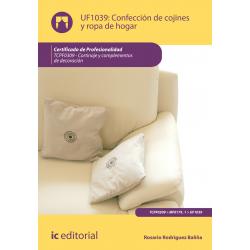 Confeccion de cojines y ropa de hogar - UF1039
