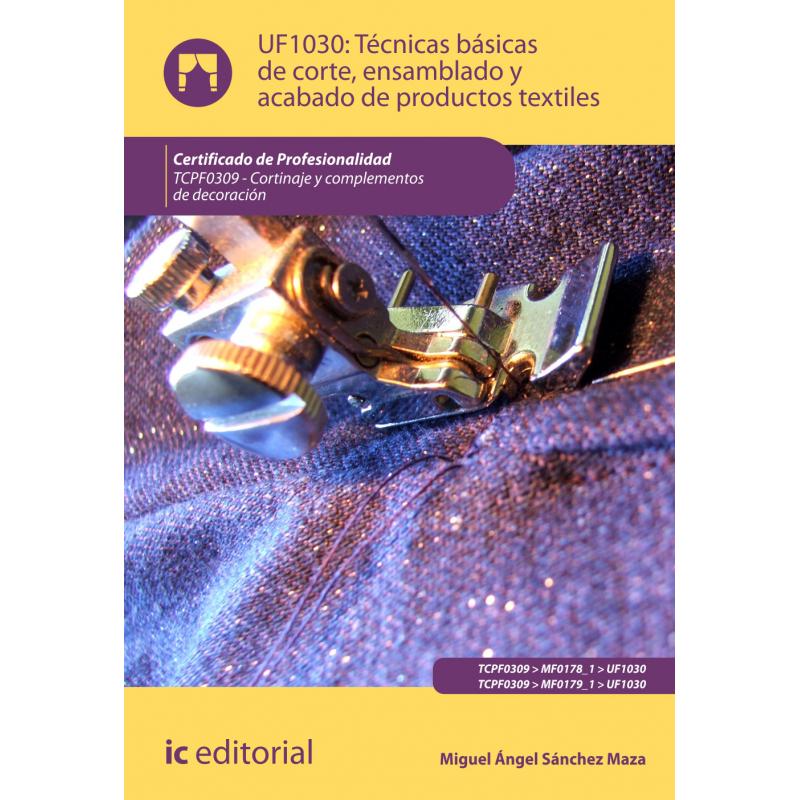 Libro de t cnicas b sicas de corte ensamblado y acabado for Tecnicas basicas de cocina libro
