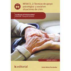 Tecnicas de apoyo psicologico y social en situaciones de crisis - MF0072_2