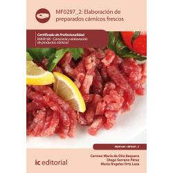 Elaboración de preparados cárnicos frescos - MF0297_2