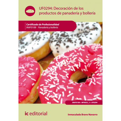 Decoracion de los productos de panaderia y bolleria UF0294