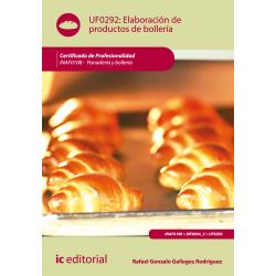 Elaboración de productos de bollería UF0292