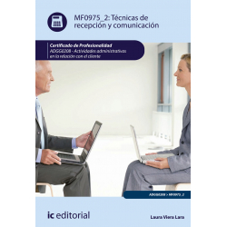 Técnicas de recepción y comunicación - MF0975_2