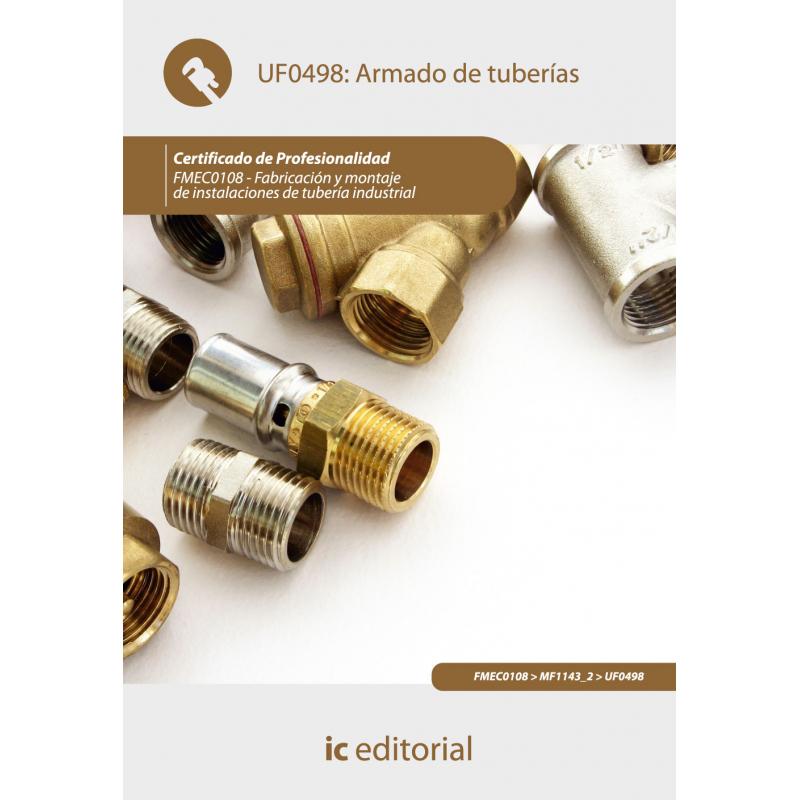 Libro de Organización y desarrollo del montaje de tuberías UF0499