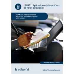 Aplicaciones informáticas de hojas de cálculo - UF0321